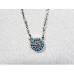 """Eye """"terget"""" necklace 463"""