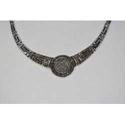 """Phaistos Disc Necklace"""