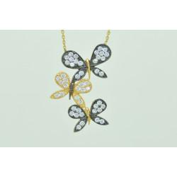 """Butterflys"" necklace No79"